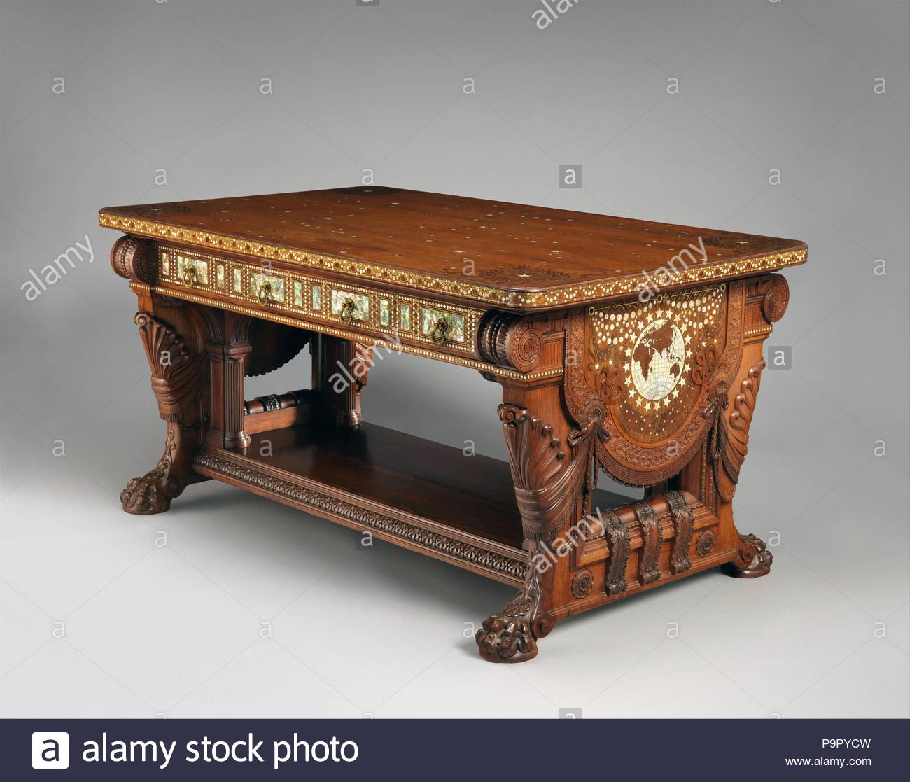 Library Table, 1879–82, Made in New York, New York, United States ...