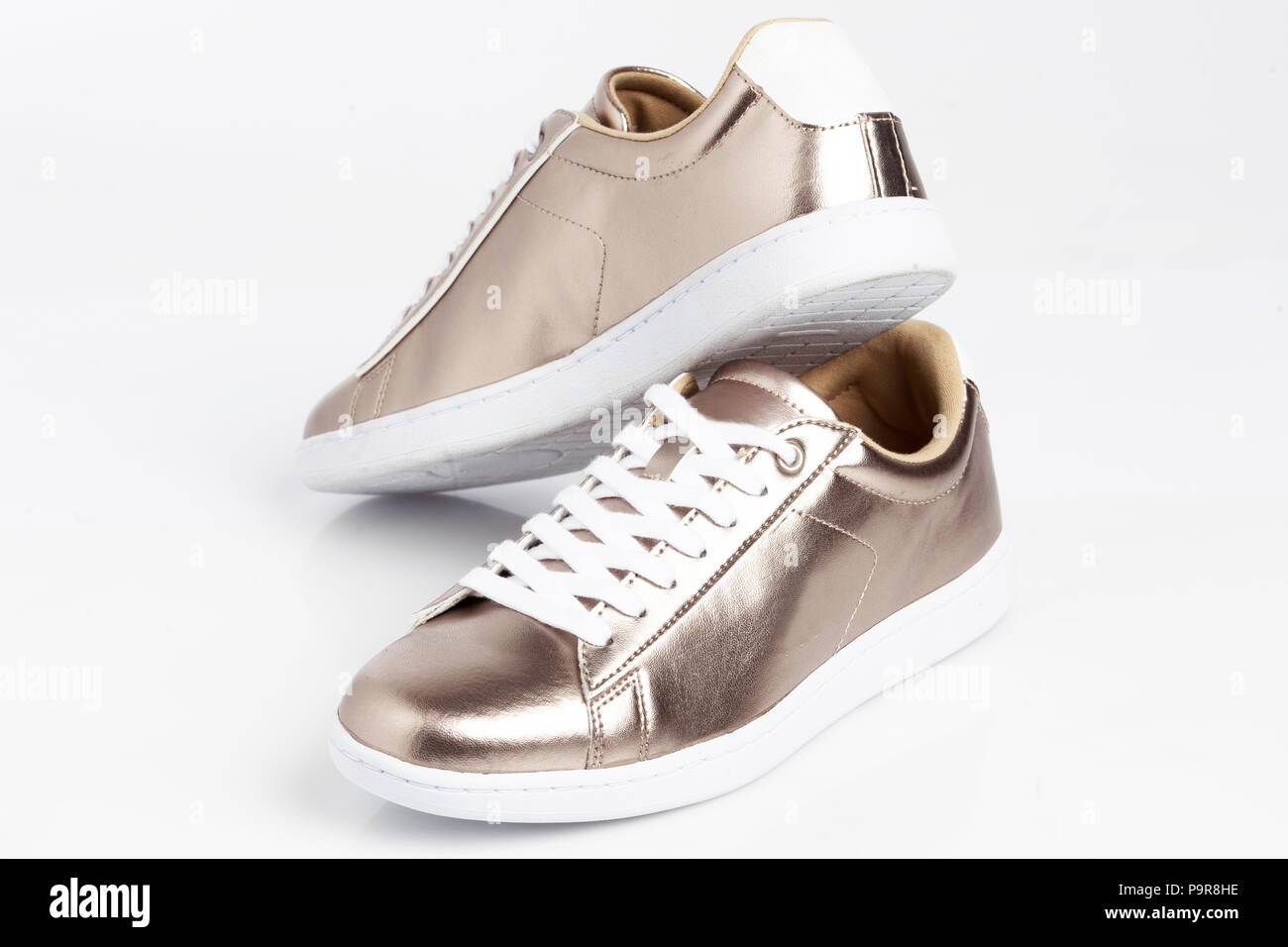 ef5e0e3dca11 Silver Shoe Stock Photos   Silver Shoe Stock Images - Alamy