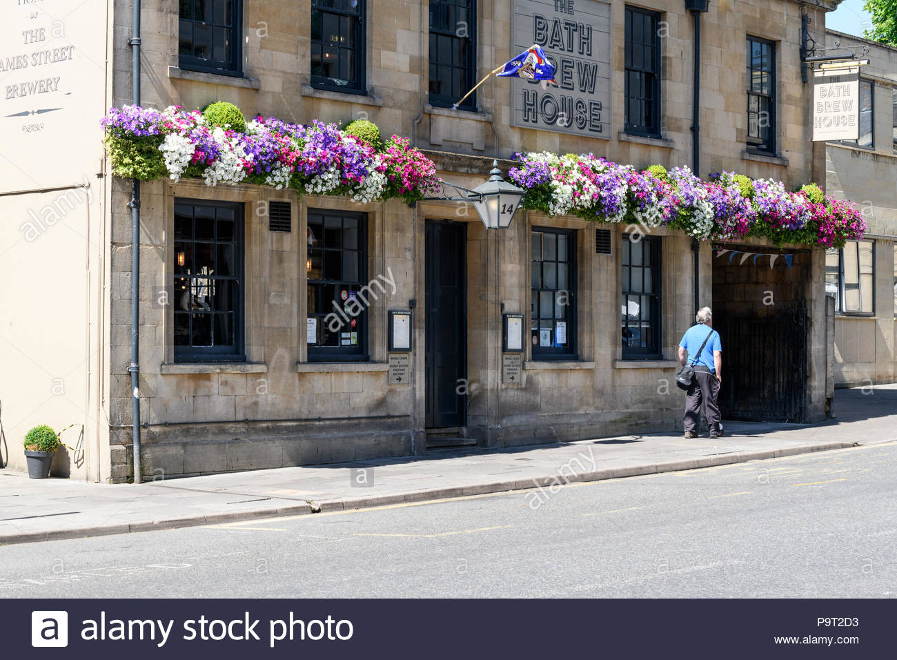 The Bath Brew House, Bath, Somerset, England, UK - Stock Image