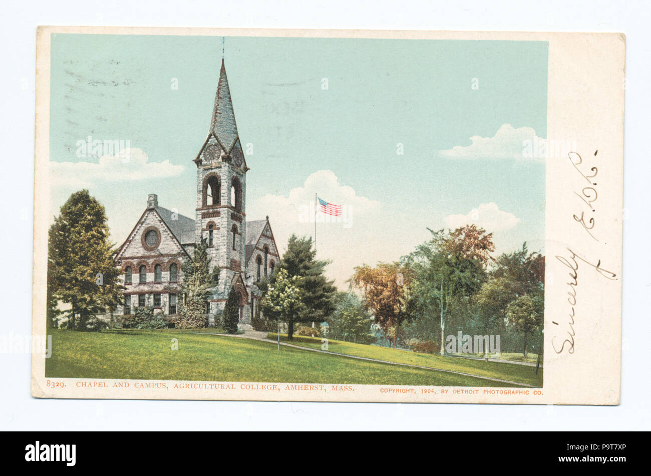 296 Chapel And Campus Agr College Amherst Mass NYPL B12647398 67697