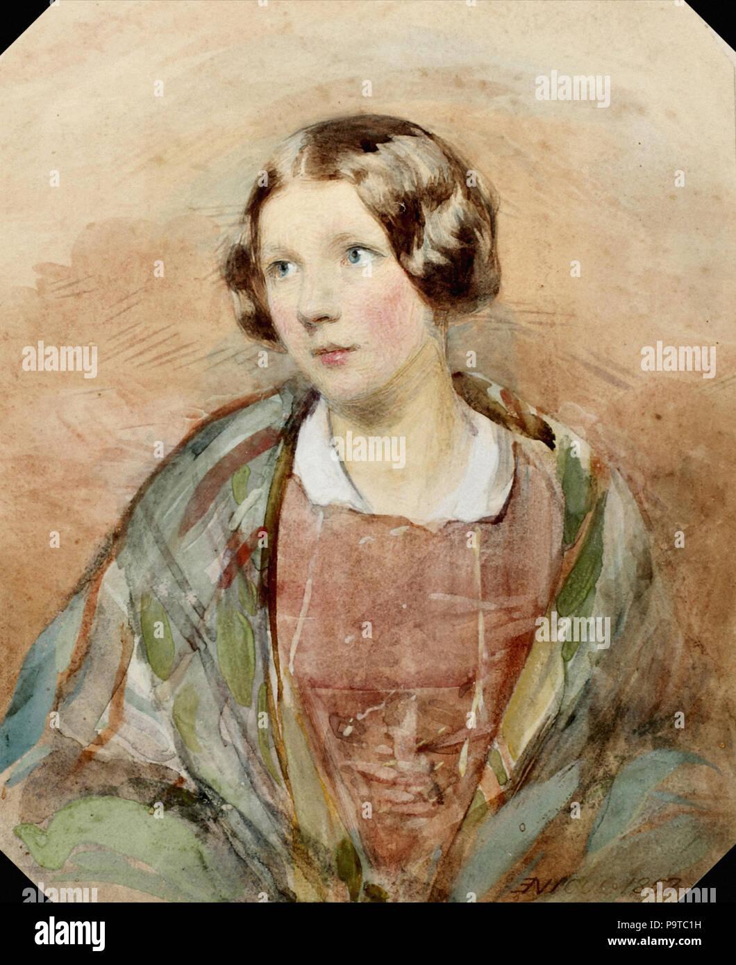Nicol  Erskine - a Scottish Lady - Stock Image