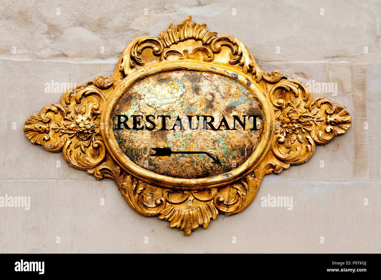 Old Restaurant, Germany - Stock Image