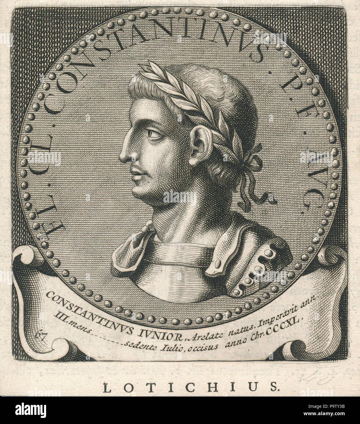 346 Constantinus IV Erfgoedcentrum Rozet 300 191 d 6 C (90) 20171115 0001 - Stock Image
