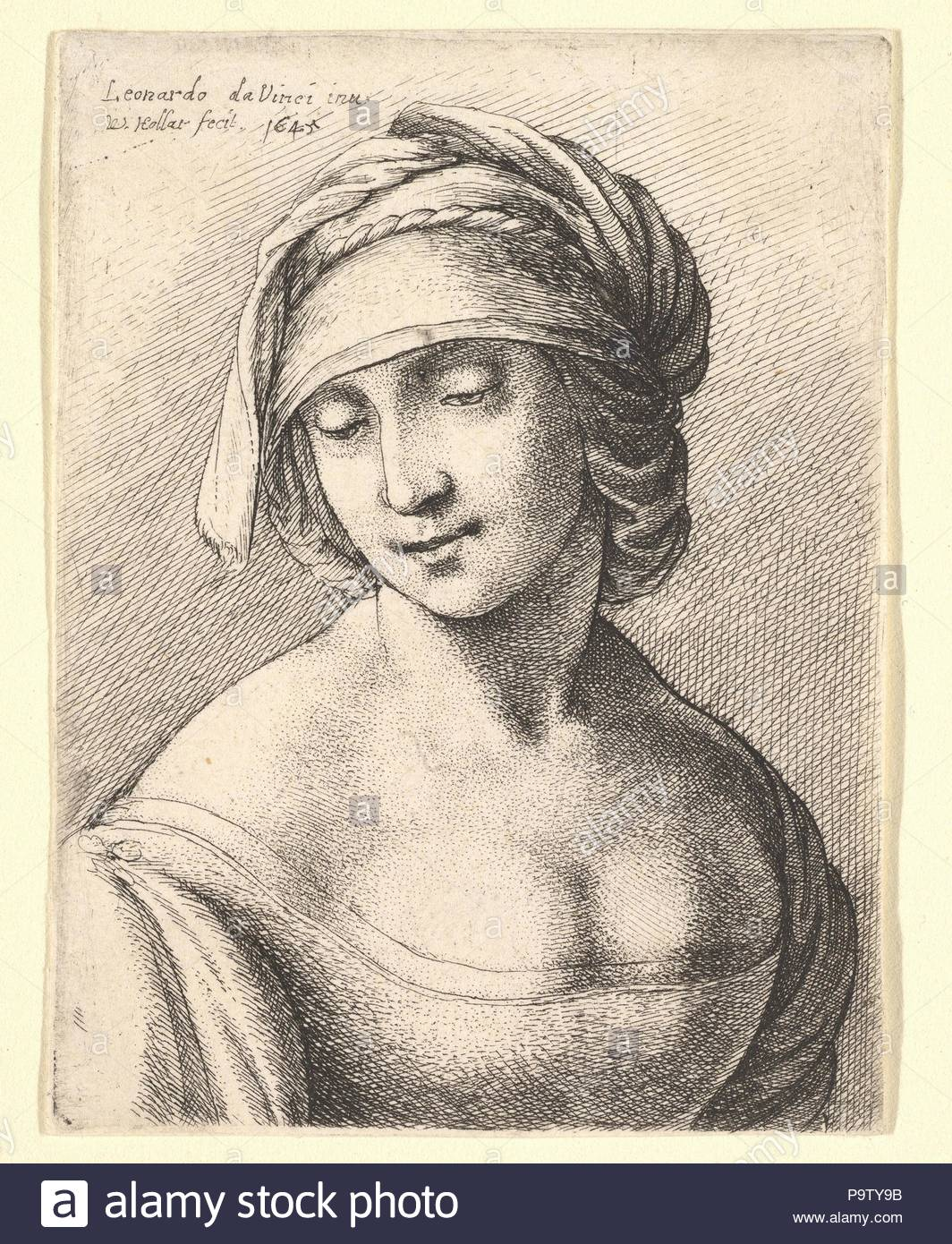 st anne 1645 etching only state plate 3 5 8 2 3 4 in 9 2