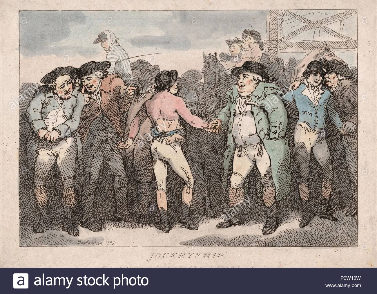 Drawings and Prints, Print, Jockeyship, Artist, Publisher, Thomas  Rowlandson, Samuel William Fores, British, London 1757–1827 London,  British, 1761–1838, ...