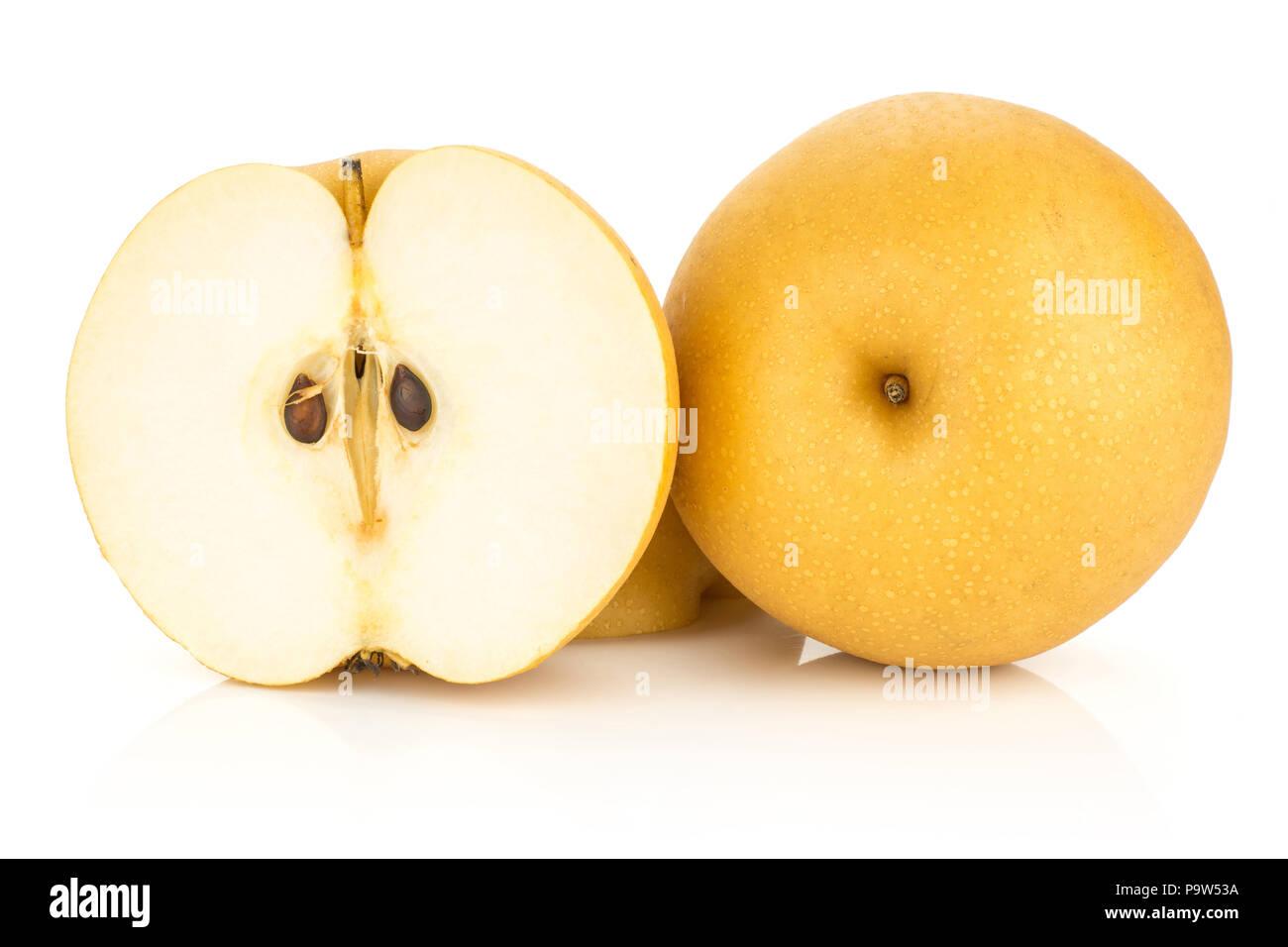 Asian golden pears