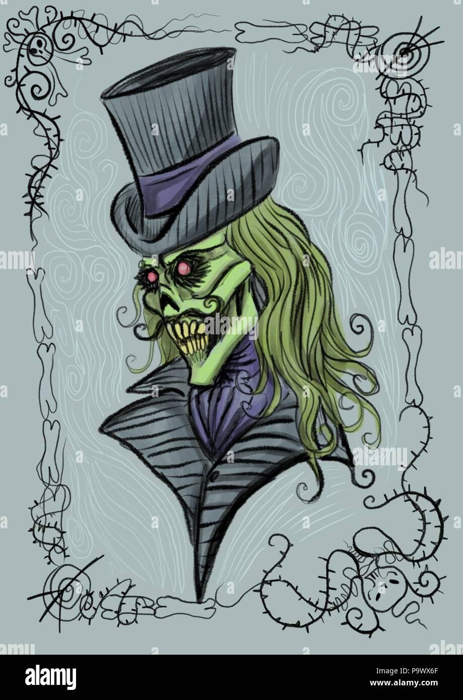 Voodoo Zombie Stock Photos & Voodoo Zombie Stock Images - Alamy