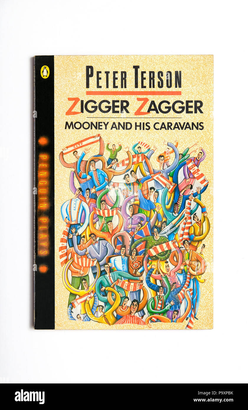 zigger zagger book written by peter terson - Stock Image