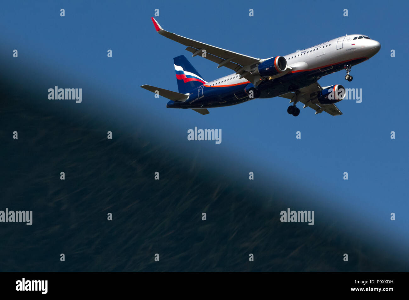 Airbus A320 Sharklets Stock Photos & Airbus A320 Sharklets Stock