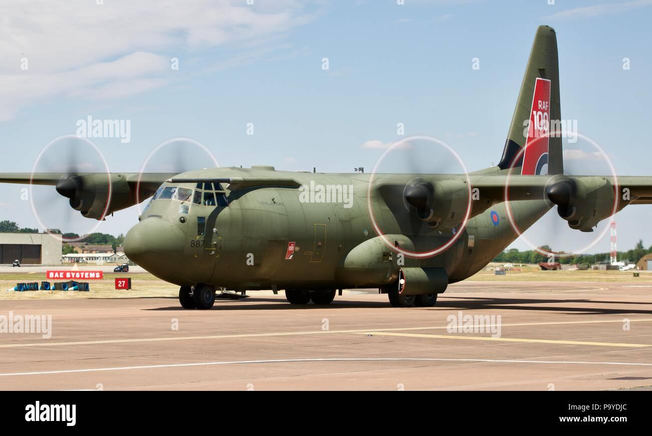 Lockheed C 130 Hercules Four Engine Turboprop Military