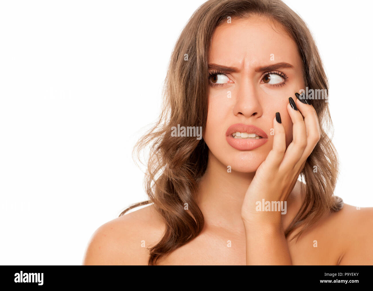Oops. I forgot something - Stock Image