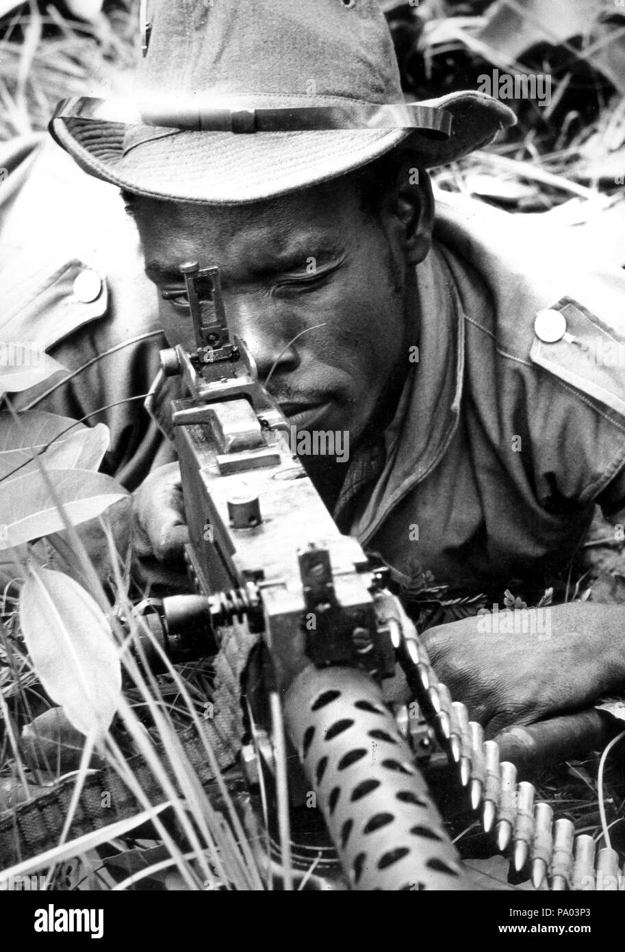 soldier, angola - Stock Image