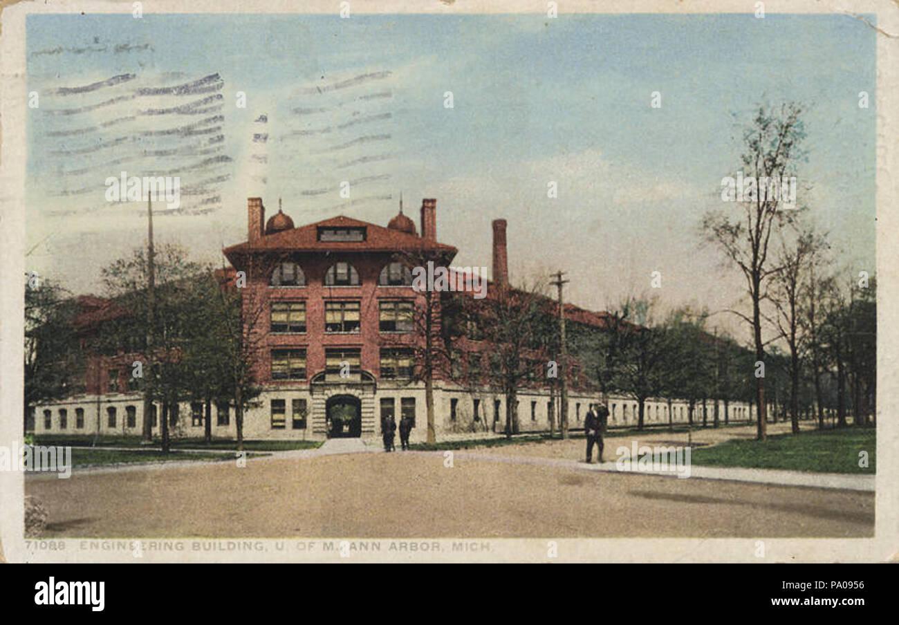 620 Engineering Building, U. of M., Ann Arbor, Mich. (