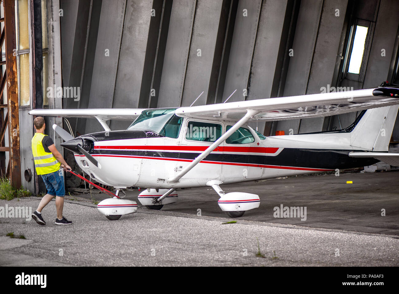 de27f7059c7 Old Aircraft Hangar Stock Photos   Old Aircraft Hangar Stock Images ...