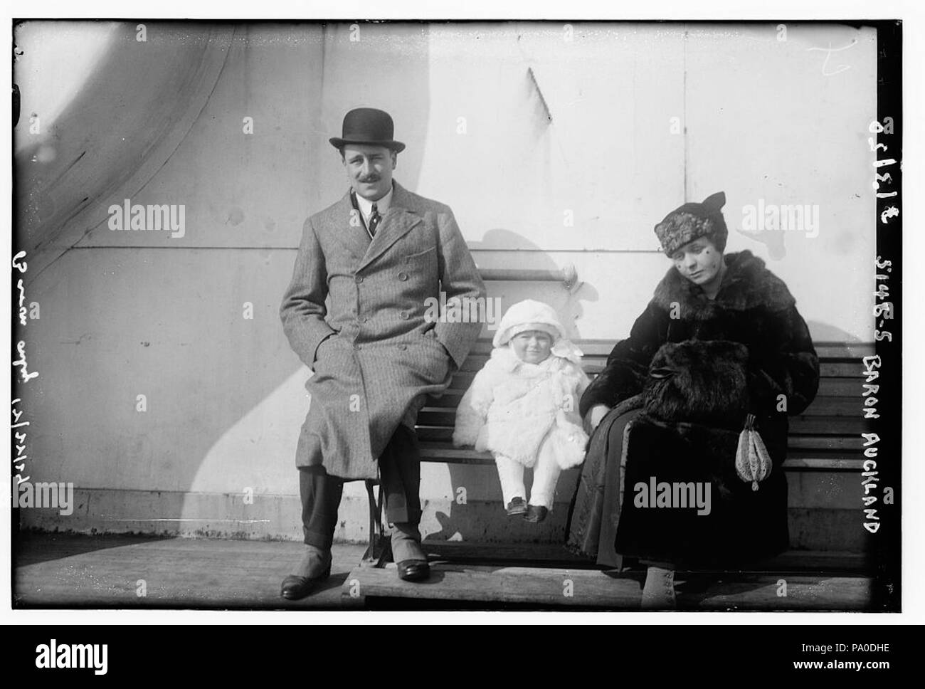 673 Frederick Colvin George Eden, 6th Baron Auckland on March 2, 1920 - Stock Image