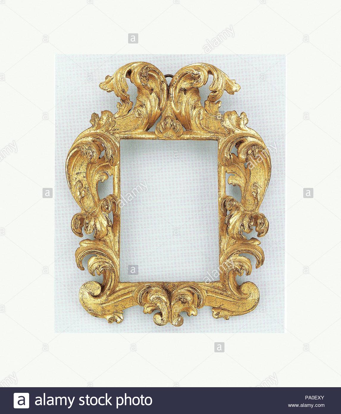 Cauliculi Frame 19th Century Style Early 18th Century Italian