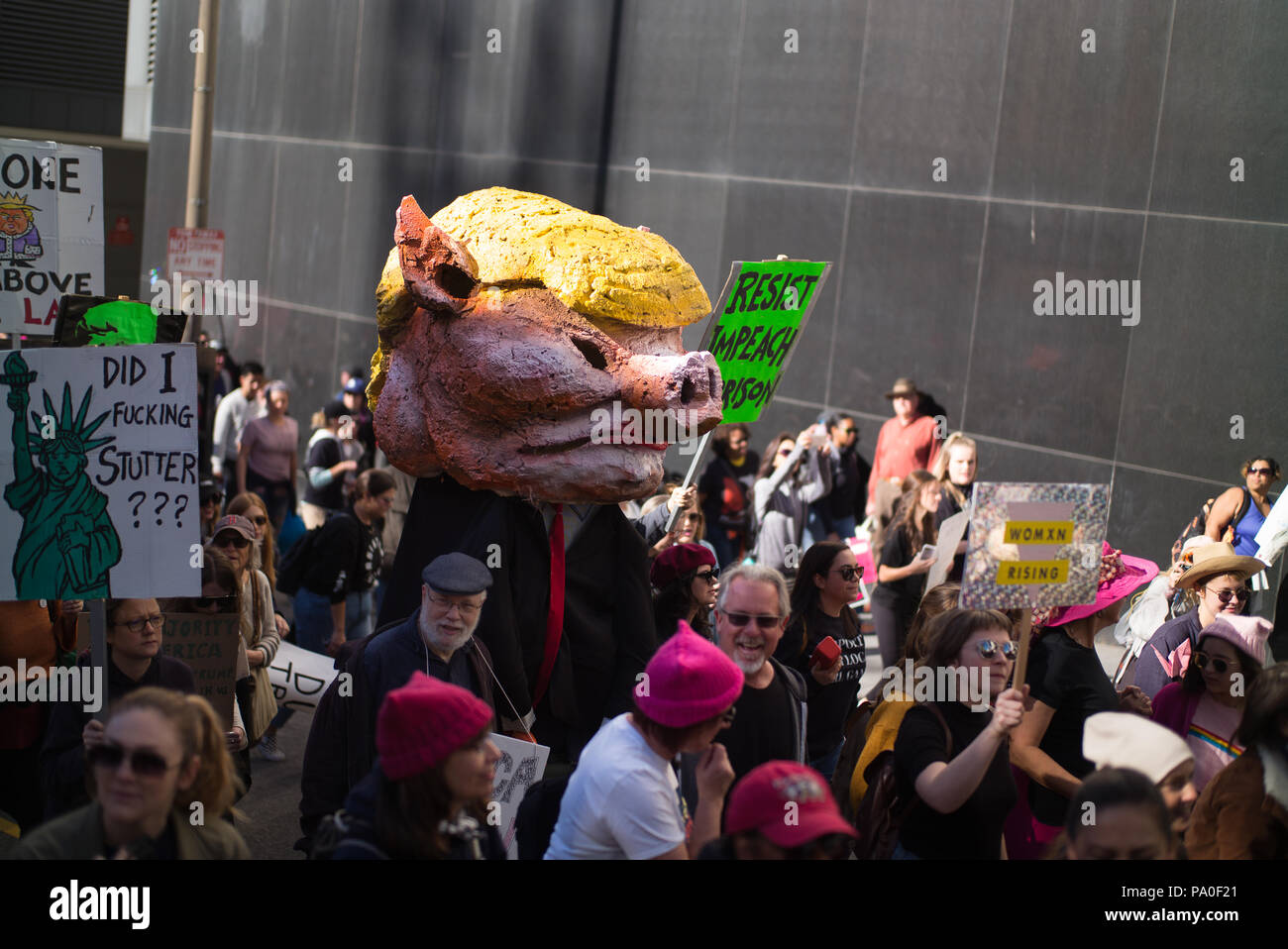 Trump Is A Pig Stock Photos & Trump Is A Pig Stock Images - Alamy