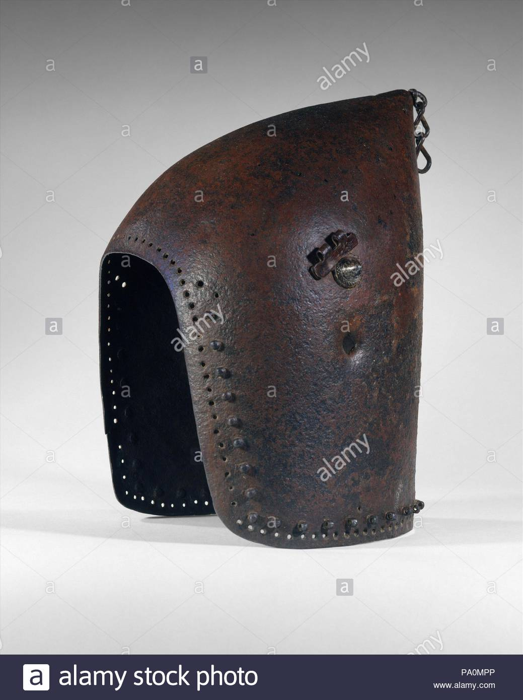 Bascinet, ca  1375–1425, possibly French, Steel, H  11 7/8