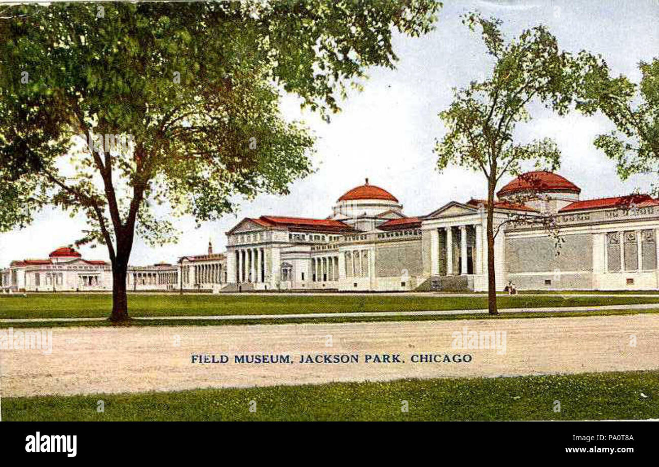 645 Field Museum, Jackson Park (NBY 2473) - Stock Image