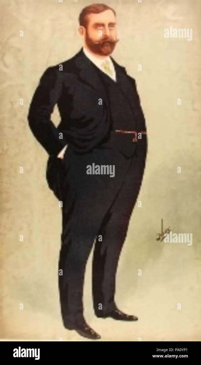 670 Frank Matcham Vanity Fair - Stock Image