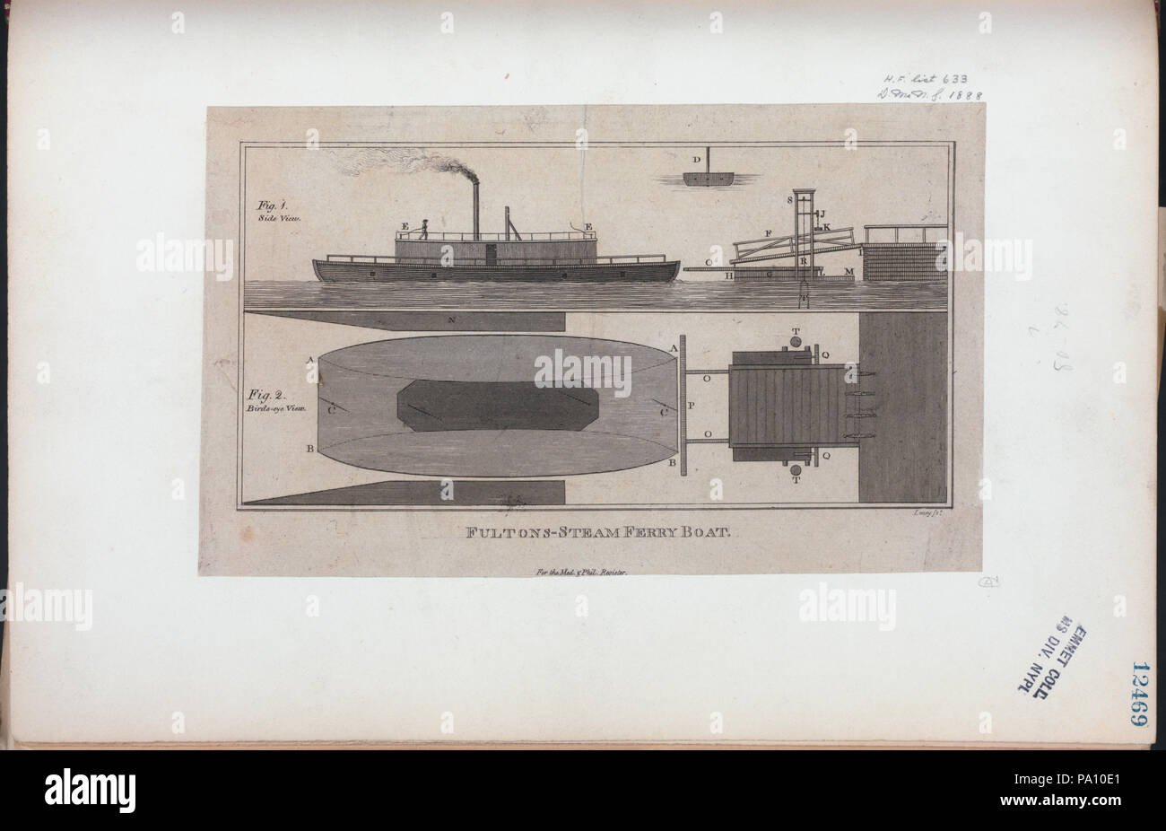 683 Fultons-steam ferry boat (NYPL Hades-255944-430963 Stock