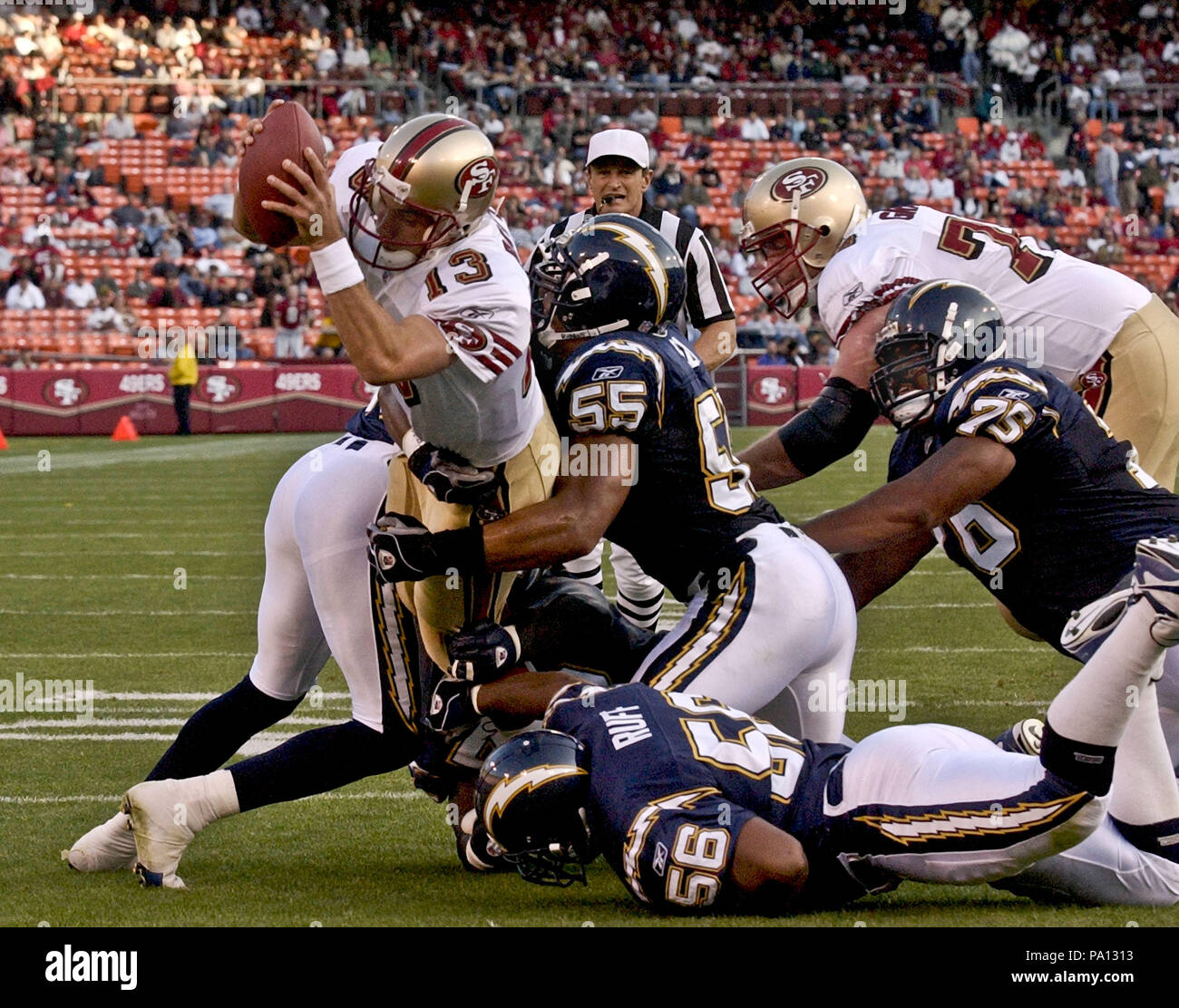 San Diego Chargers Game Live Online Free: Junior Seau Chargers Stock Photos & Junior Seau Chargers