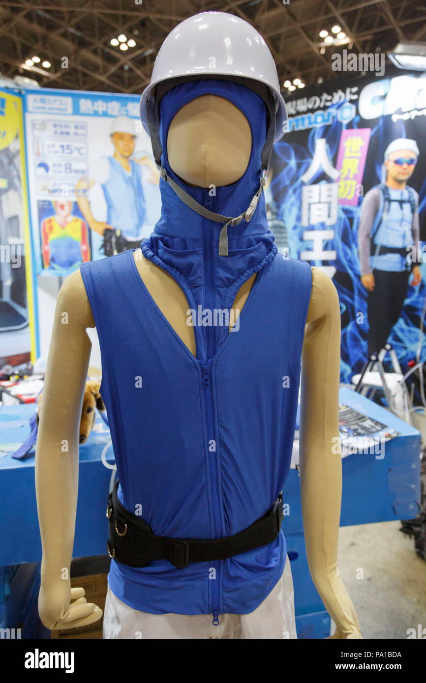 An Air Conditioned Clothing On Display During The 4th Heat Solution
