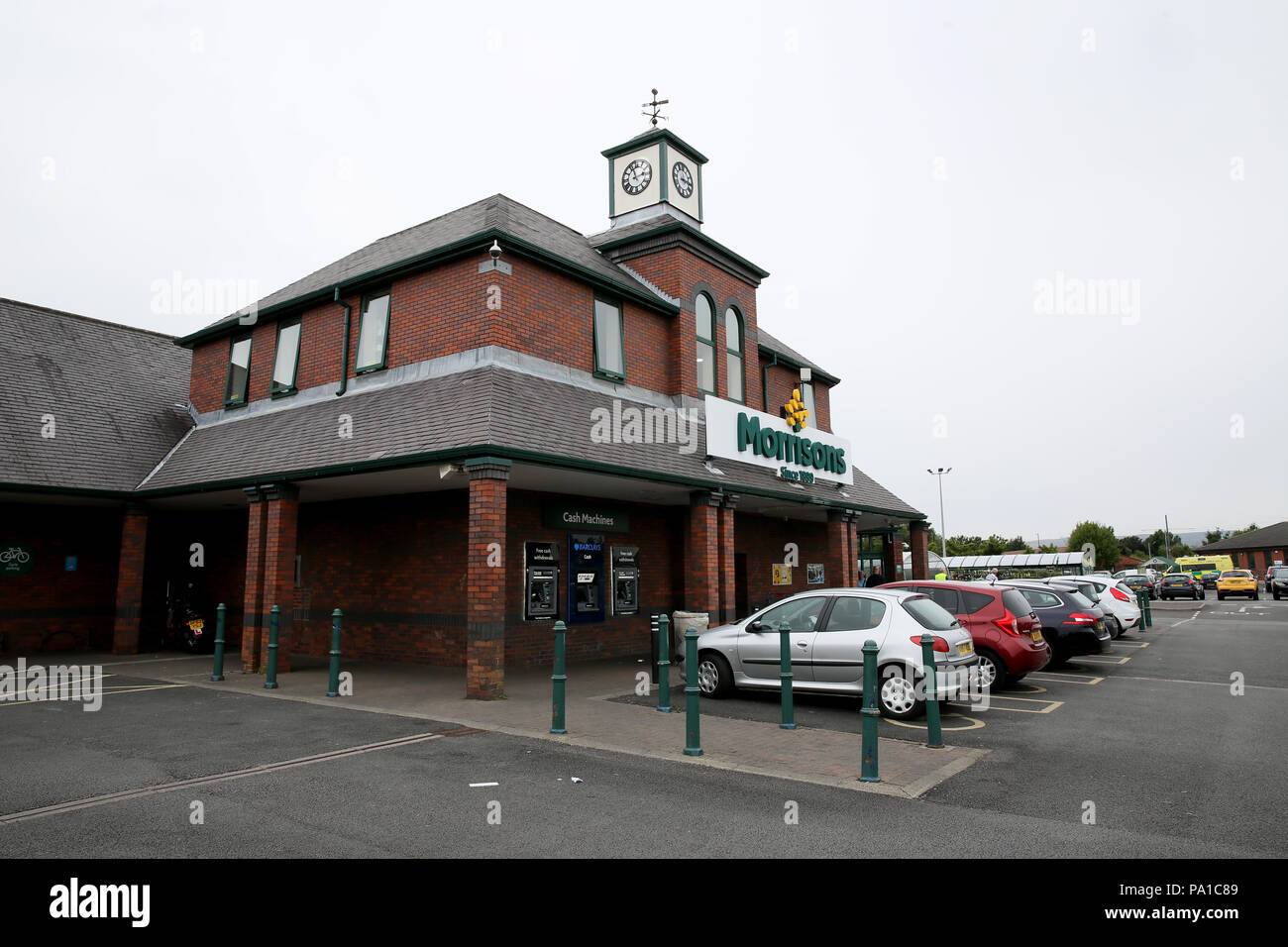 Rochdale, UK. 20th July 2018. Morrisons supermarkets have announced that they will be catering for autistic customers by holding 'quieter hour' sessions on a Saturday morning between 9am and 10am.  All 439 UK stores will take part where staff  will avoid using the tannoy system, lights will be dimmed and music turned of.  Rochdale,20th July, 2018 (C)Barbara Cook/Alamy Live News - Stock Image