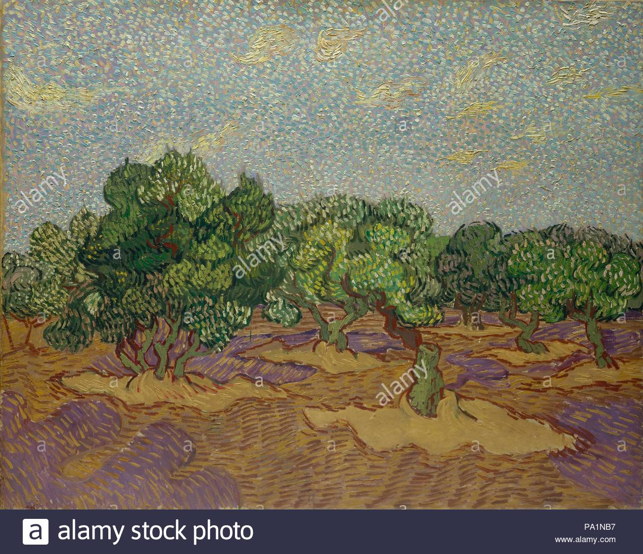 Stylization under the picture of Vincent Van Gogh 18