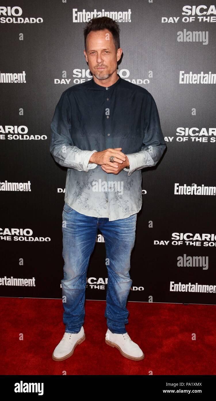 'Sicario: Day of the Soldado' Premiere - Arrivals  Featuring: Dean Winters Where: NYC, New York, United States When: 18 Jun 2018 Credit: Patricia Schlein/WENN.com Stock Photo