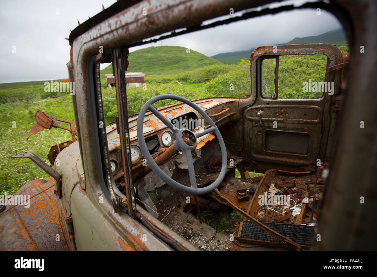 Military Vehicle Abandoned High Resolution Stock Photography And Images Alamy