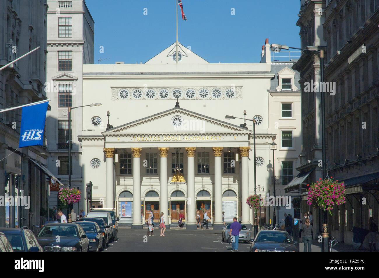 Theatre Royal Haymarket London - Stock Image