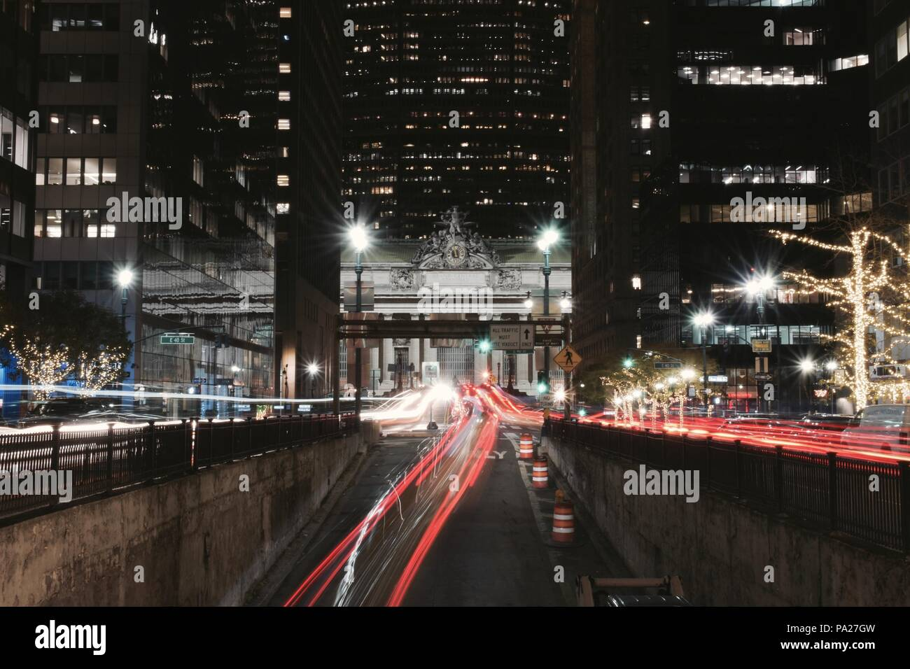 A Way to Grand Central - Stock Image