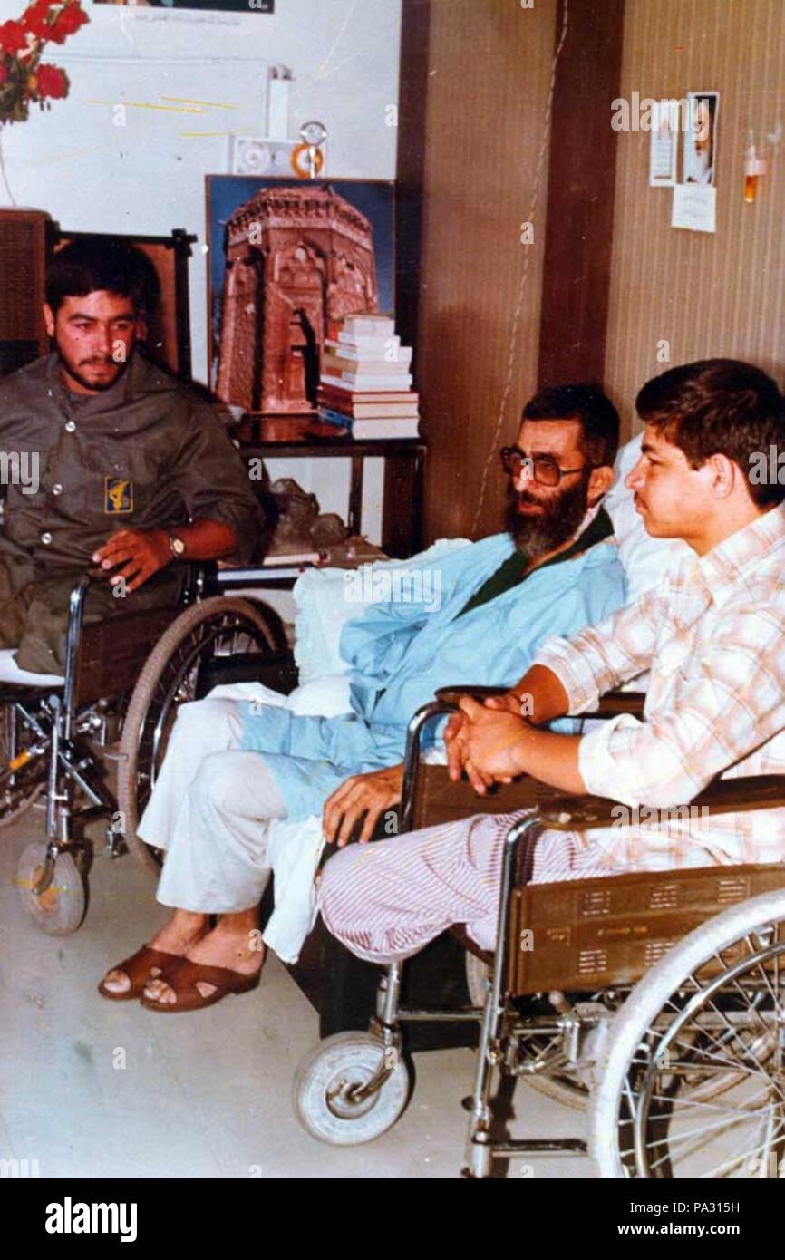 16 Ali Khamenei in Baharloo Ho...