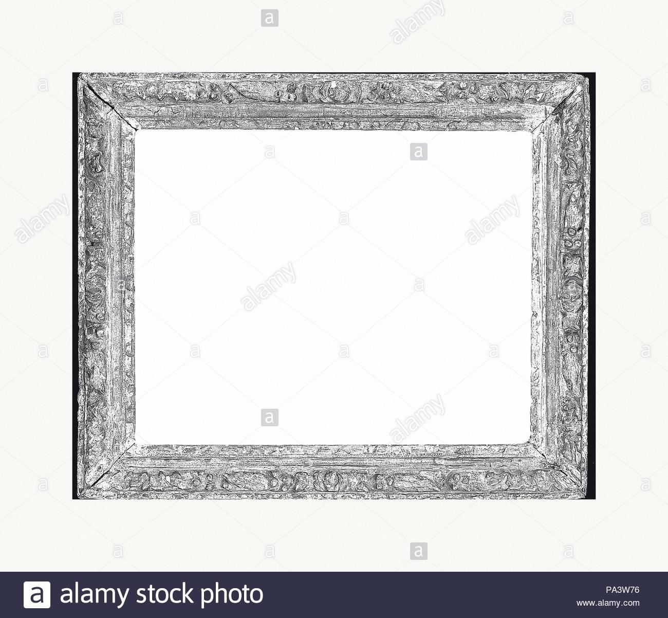 Astragal frame, 1650–80, French, Oak, 51 x 42.7, 39.6 x 31.3, 42 x ...