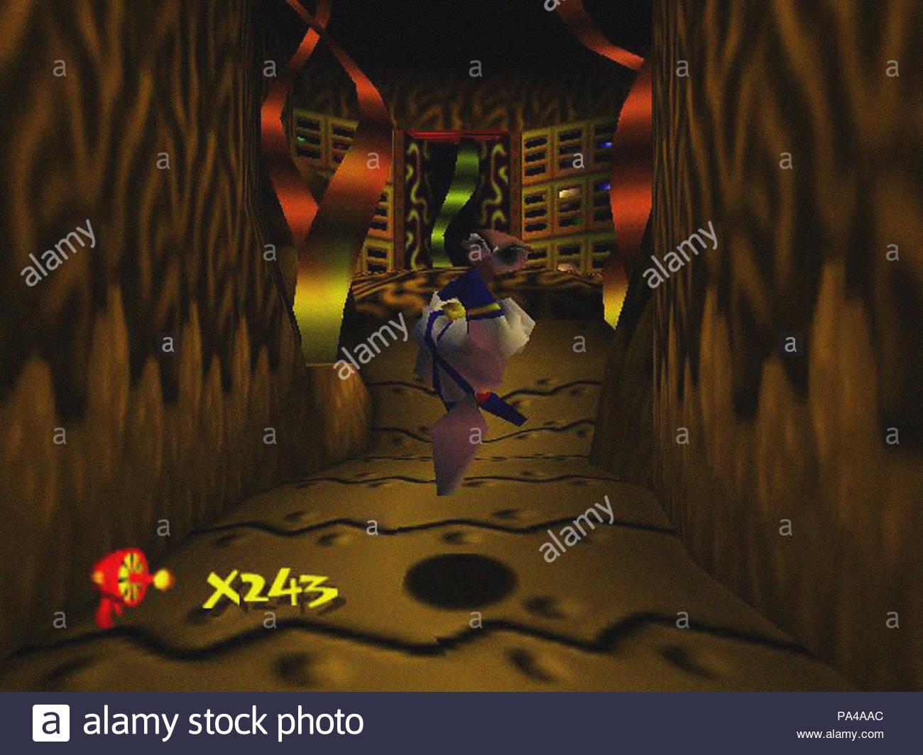 earthworm jim 3d screenshot - Stock Image