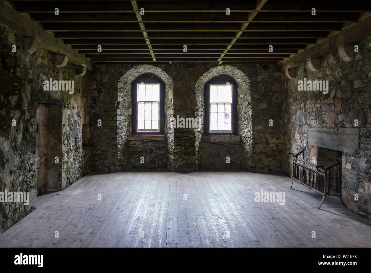 scottish castle interior stock photos scottish castle interior