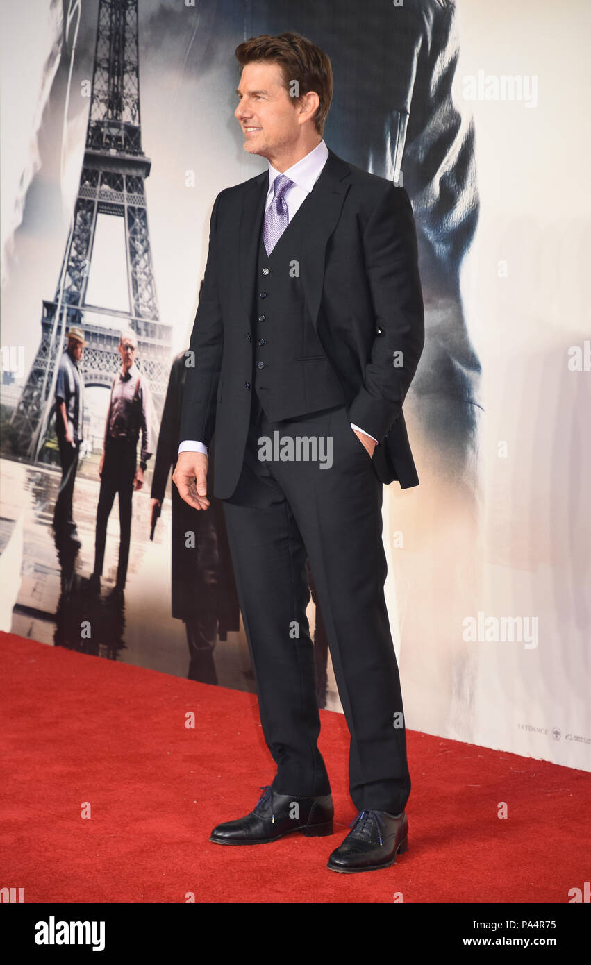 Tom Cruise,Mission:Impossible-Fallout,UK Premiere,Odeon BFI IMAX,Waterloo,London.UK 13.07.18 - Stock Image