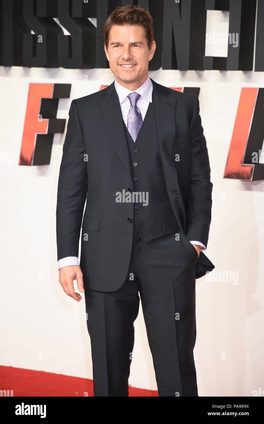 Tom Cruise,Mission:Impossible-Fallout,UK Premiere,Odeon BFI IMAX,Waterloo,London.UK 13.07.18 Stock Photo