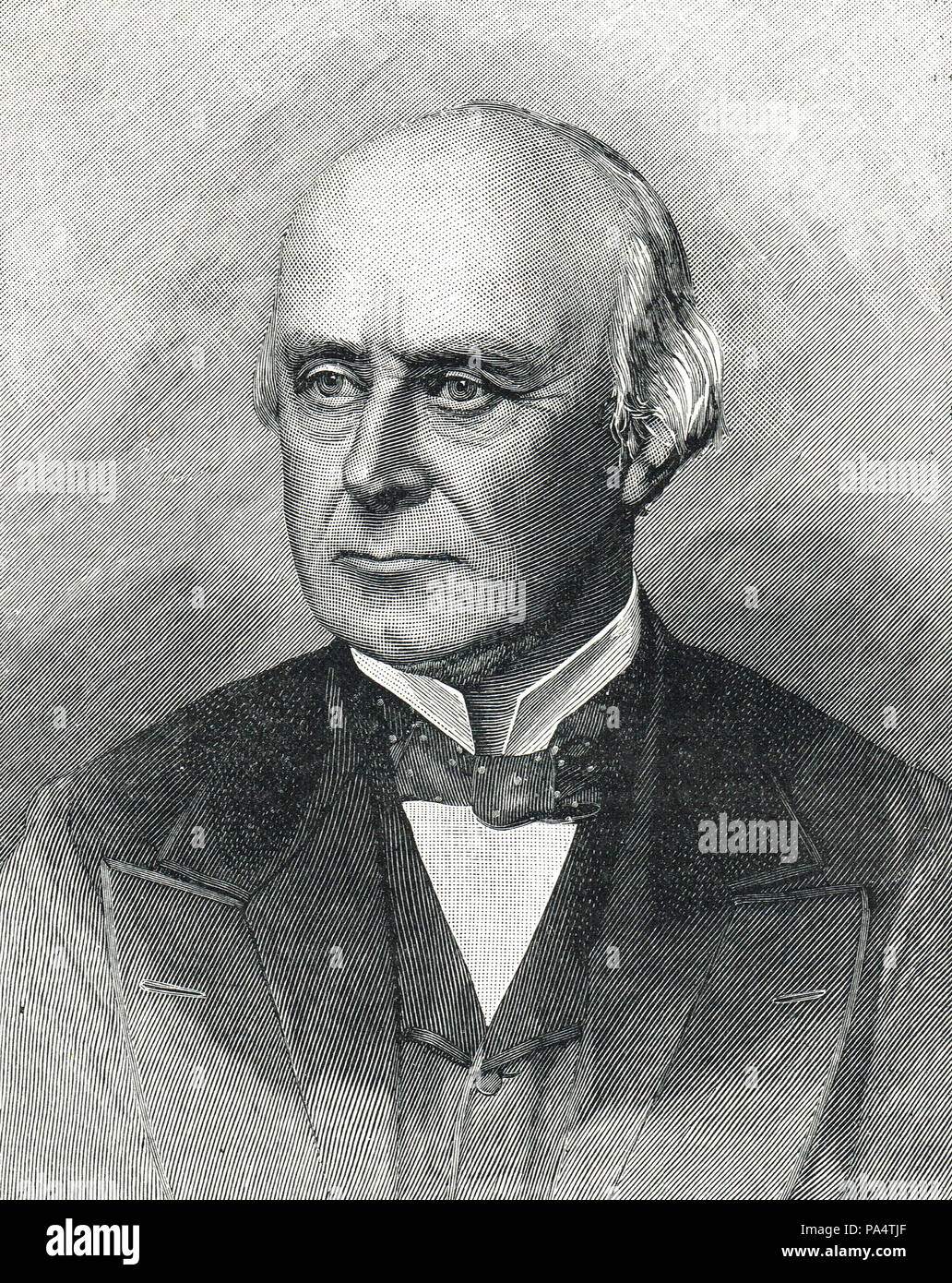 Henry Brand, 1st Viscount Hampden, British Liberal politician, and speaker of the House of Commons 1872 to 1884 - Stock Image