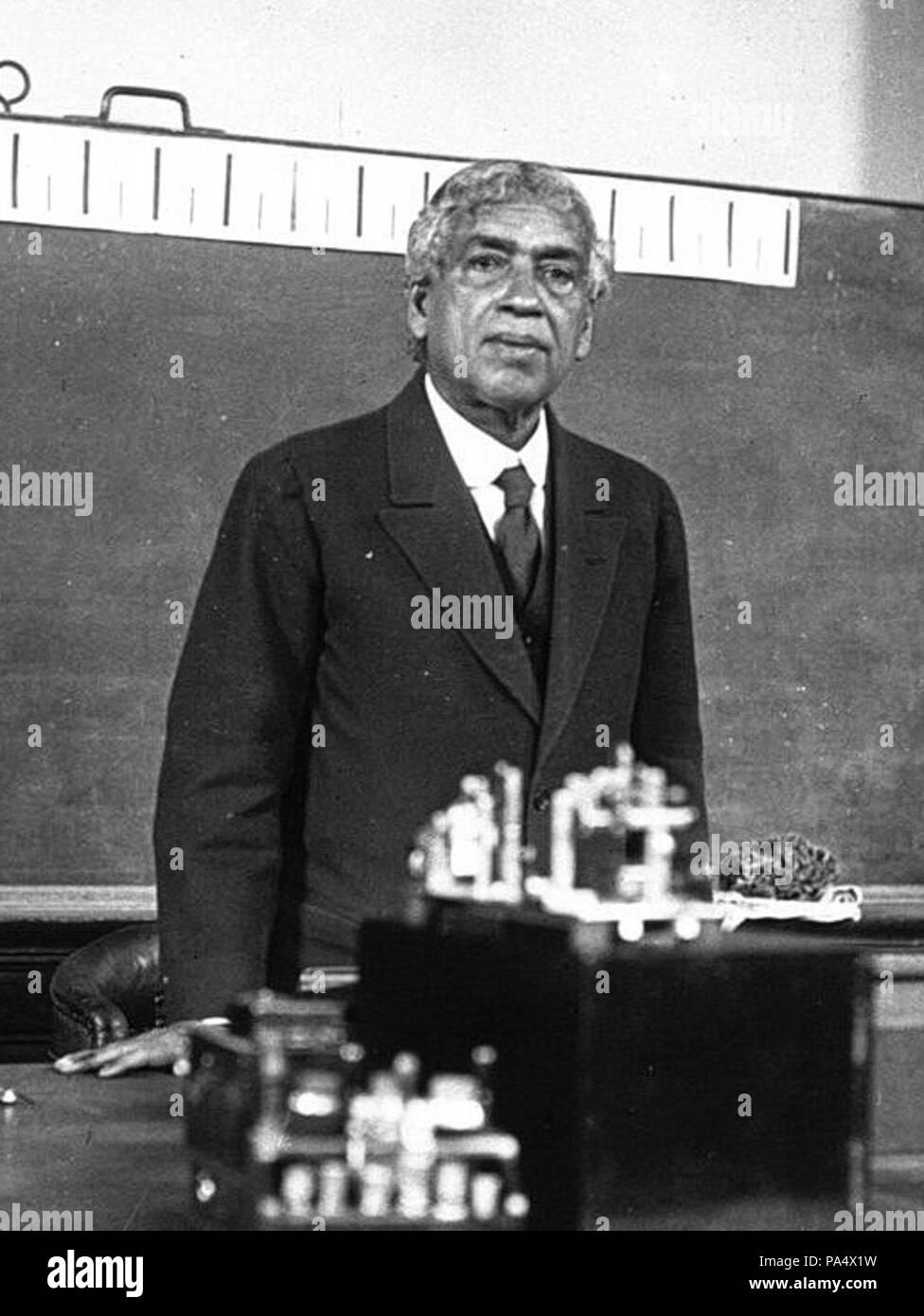 137 Jagadish Chandra Bose 1926 - Stock Image