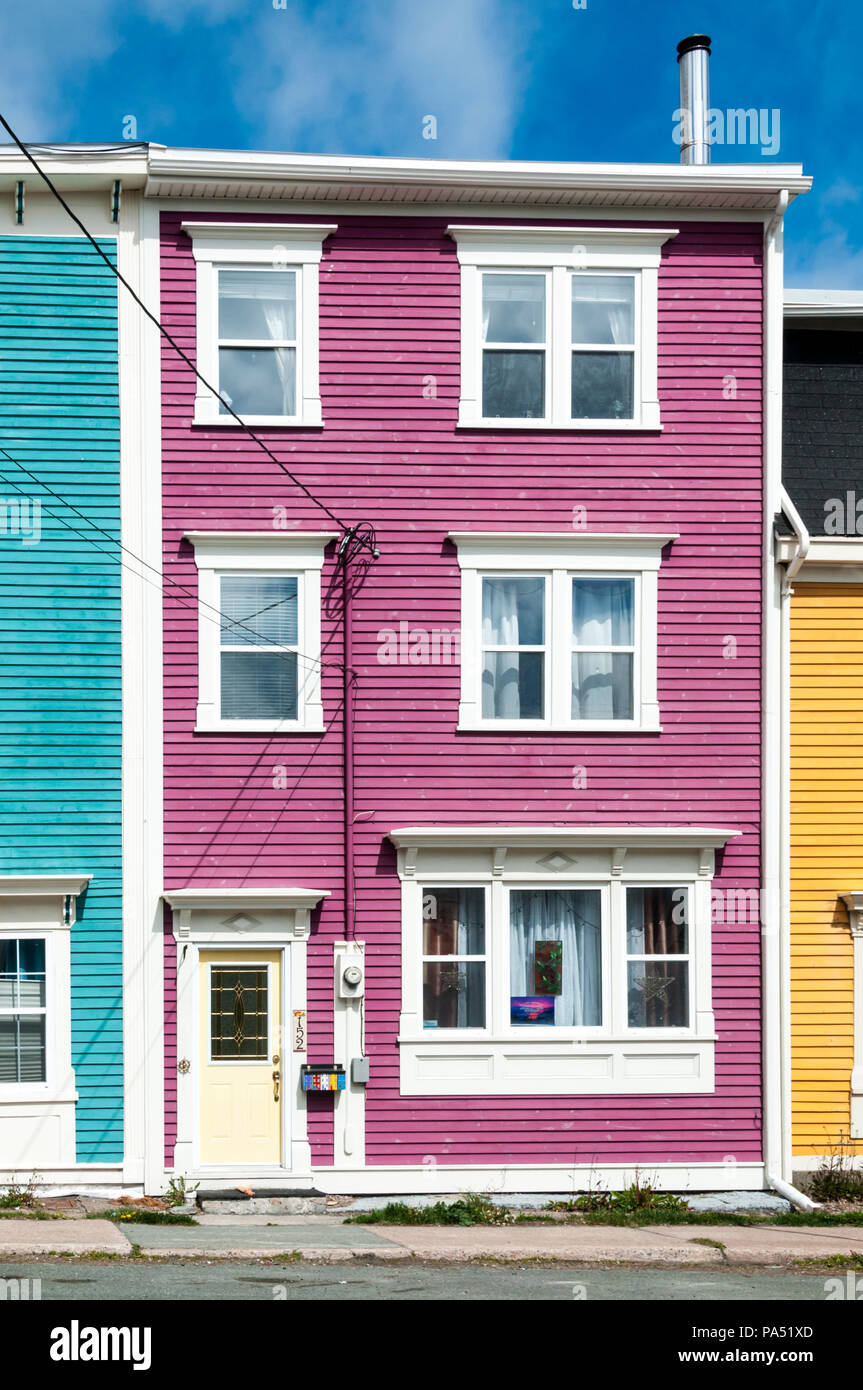 Houses Row Colours Stock Photos & Houses Row Colours Stock Images ...