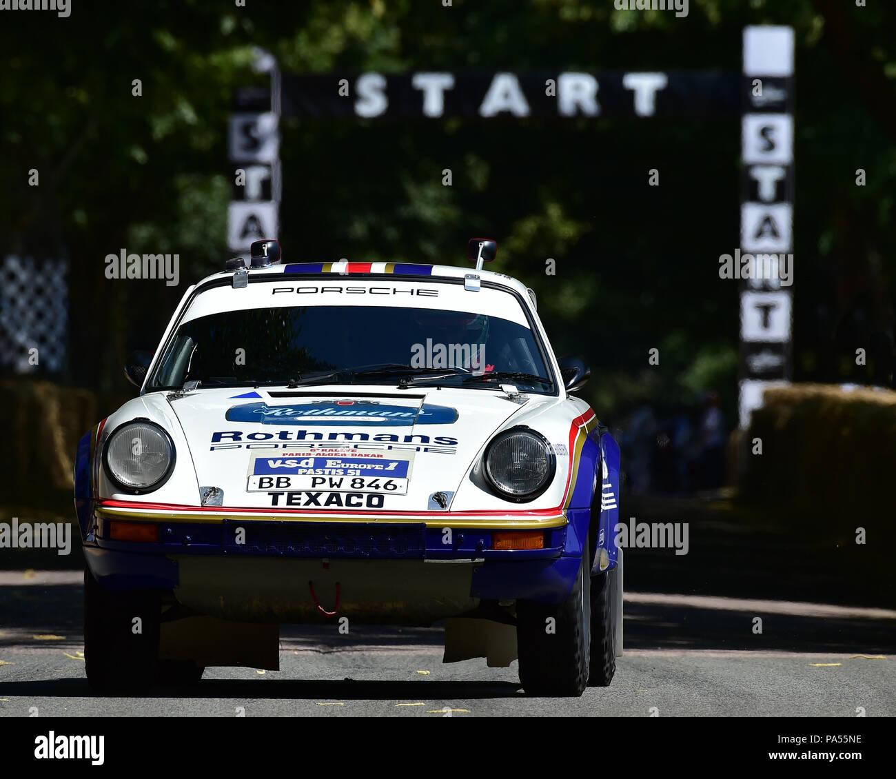 Walter Rohrl Chritian Geistdoerfer Porsche 911 Sc Paris Dakar