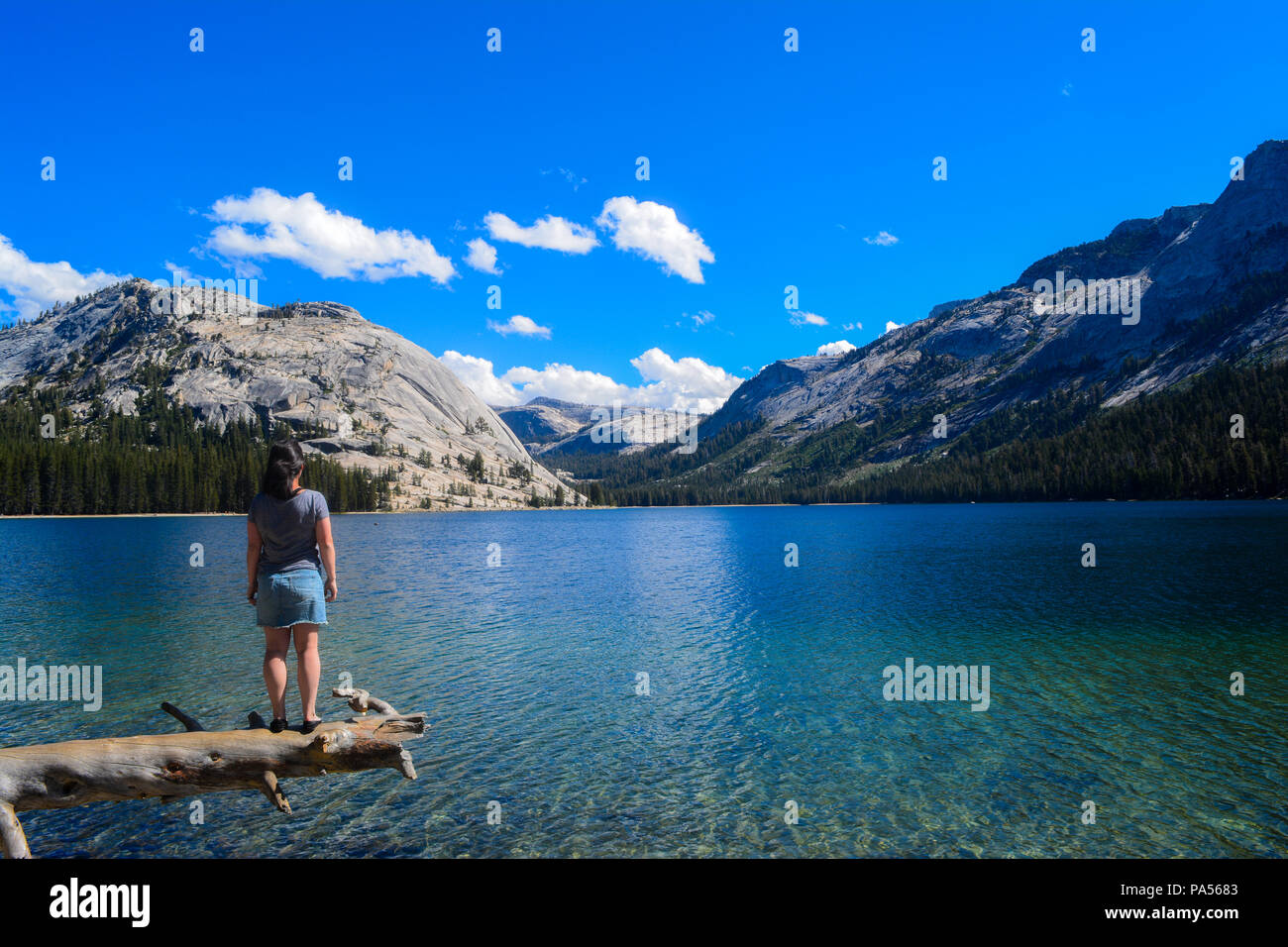 Tranquil optimism - Stock Image