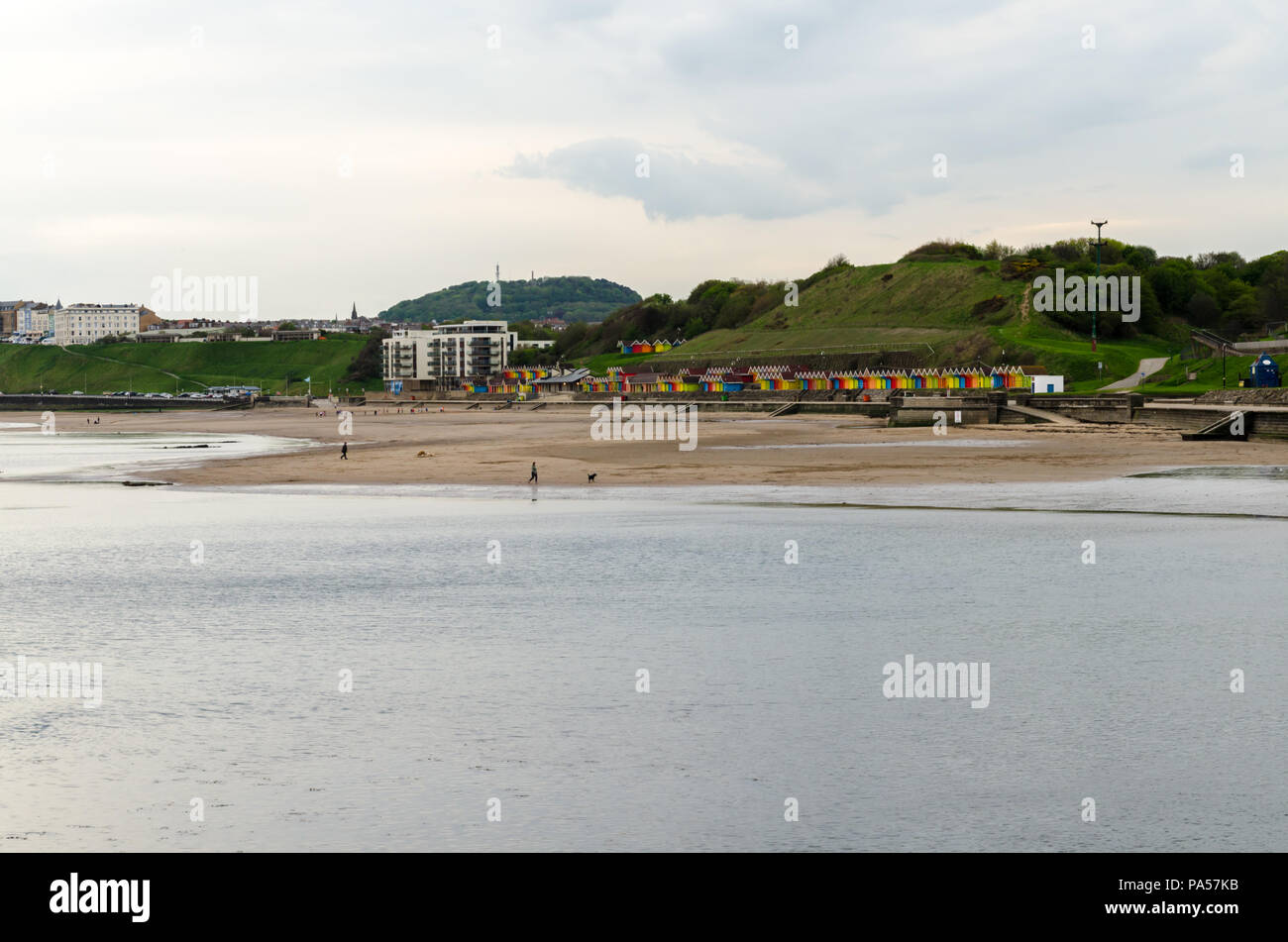 The North Bay at Scarborough - Stock Image