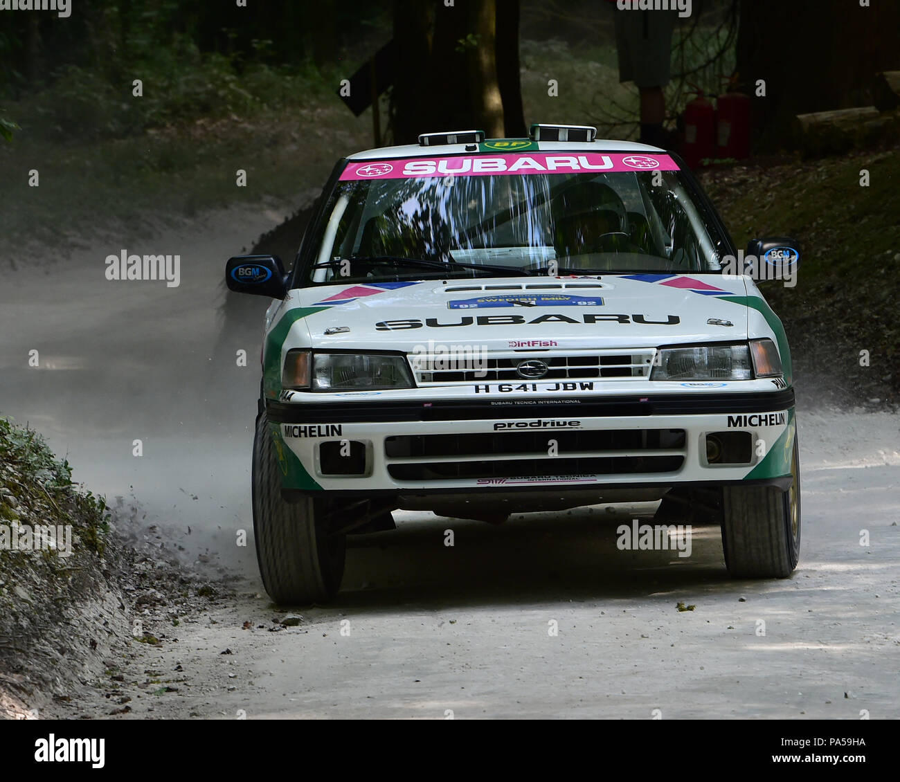 Jimmy Mcrae Alister Mcrae Subaru Legacy Rs Forest Rally Stage