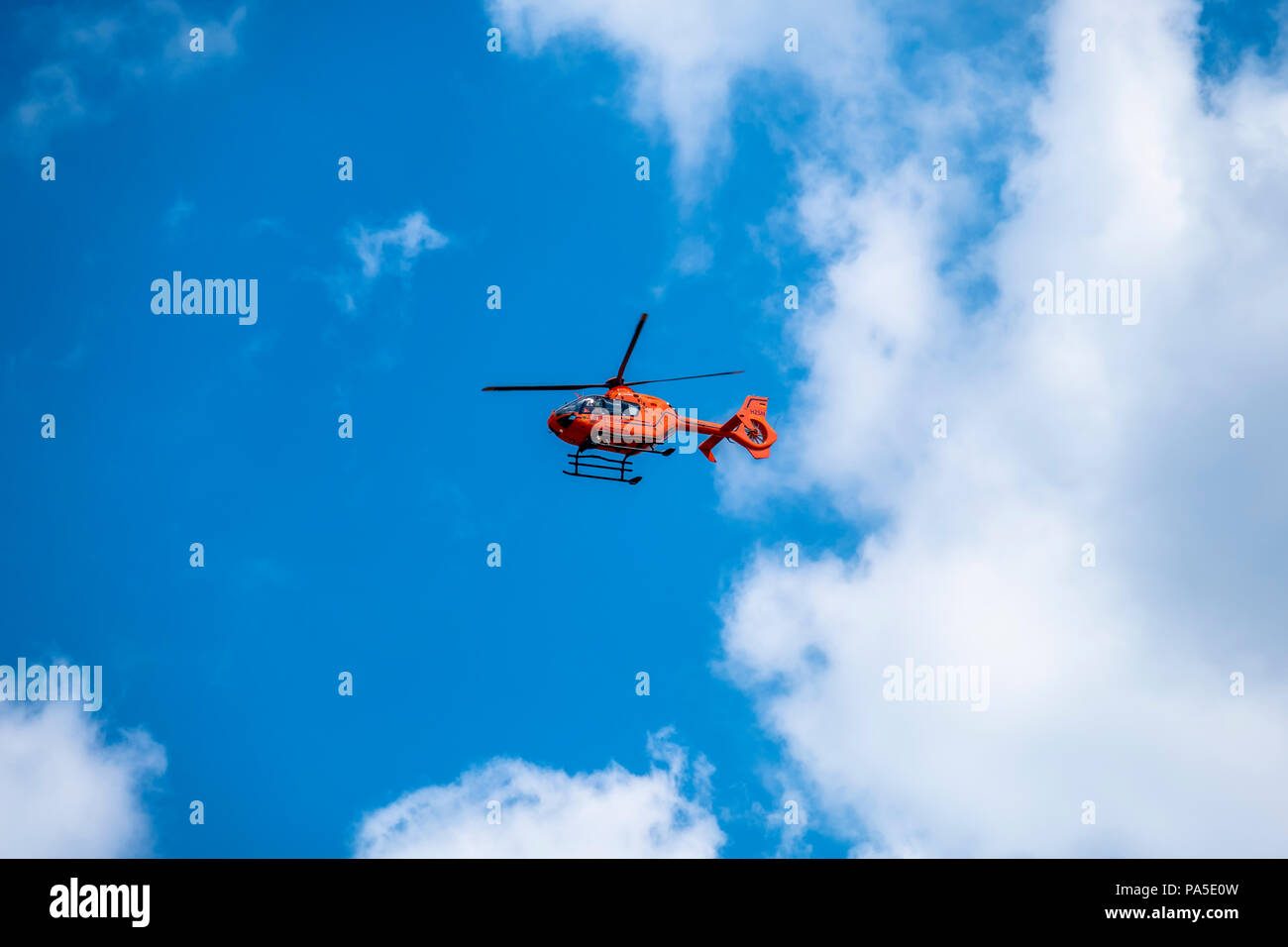 Rescue Helicopter Interior Stock Photos & Rescue