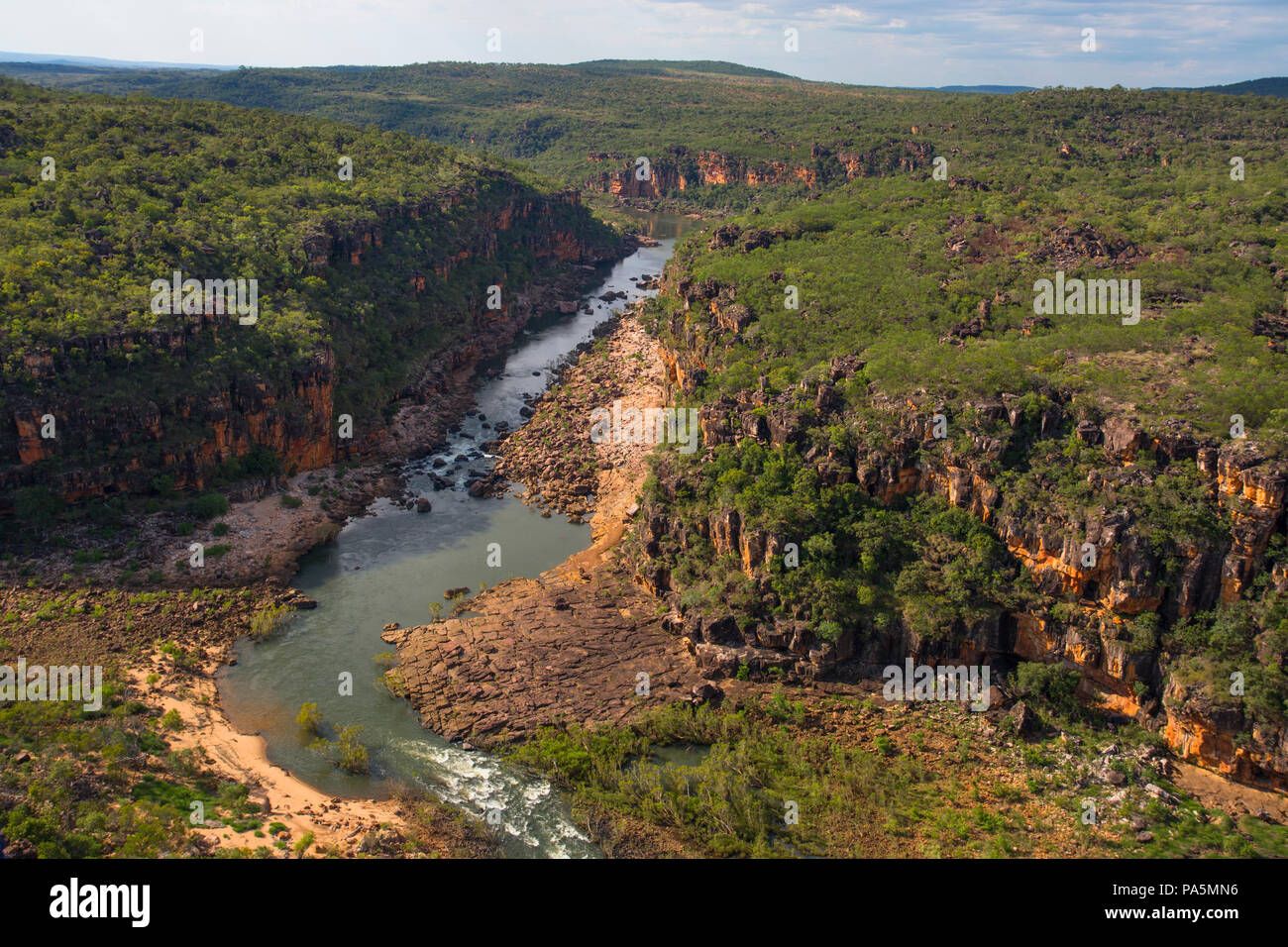 Australian Outback landscape - The Kimberley - Stock Image