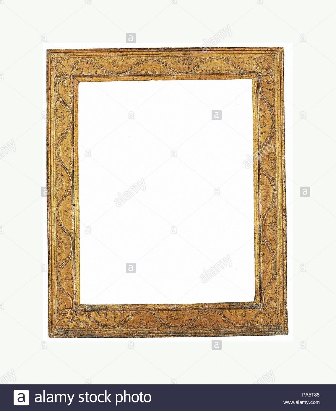 Cassetta frame, early 17th century, Italian, Lombardy, Poplar ...