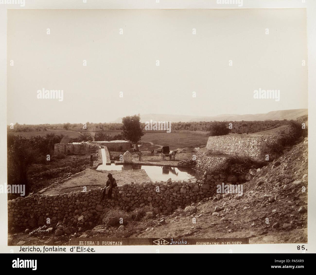 Inv.nr:LXVI:N.85. 90 Fotografi från Jeriko - Hallwylska museet - 104429 - Stock Image